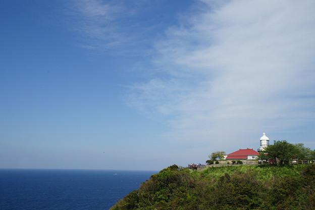 岬の美保関灯台