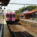 Photos: 一畑口駅 同時入線_02