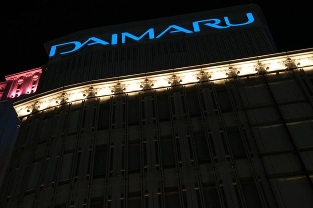 神戸大丸のライトアップ