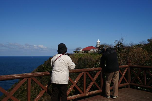 美保関 灯台を撮る