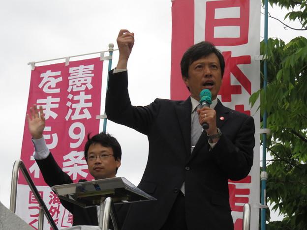金田峰生参院予定候補 訴え