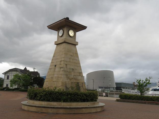 敦賀港 時計台公園