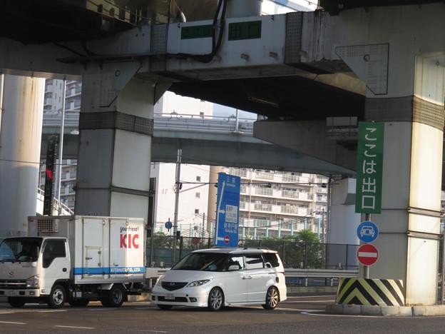 生田川IC出口