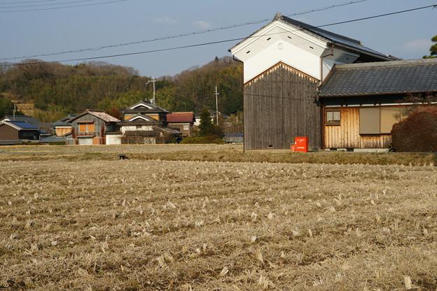 吉川 白壁の土蔵