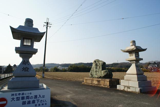 若宮神社 参道