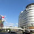 Photos: 青空と交通センタービル