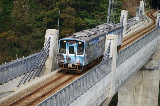 余部橋りょう ラッピング電車_04