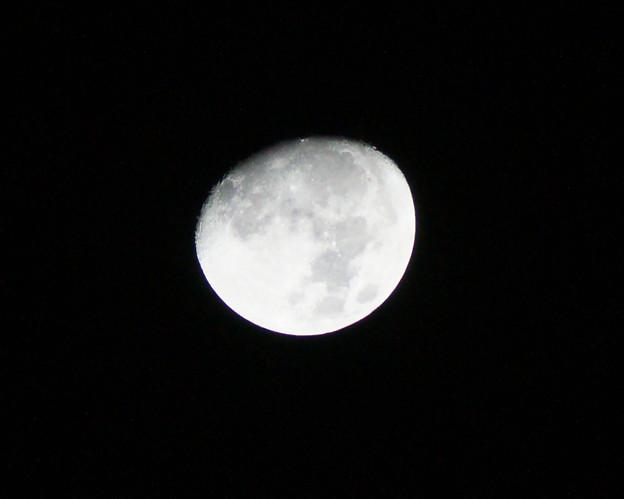 アルデバラン食の夜の月