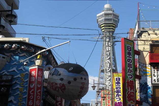 通天閣と大阪の街_01