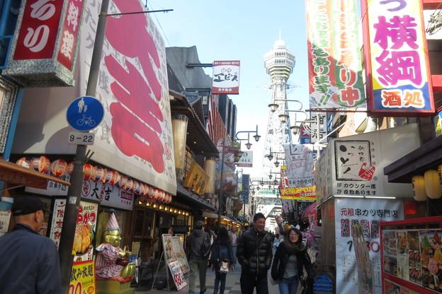 通天閣と大阪の街_05
