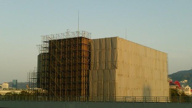 写真: みなとじま会館 解体工事01
