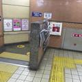 花隈駅改札 エレベーター設置
