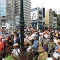 元町大丸前街頭演説 聴衆