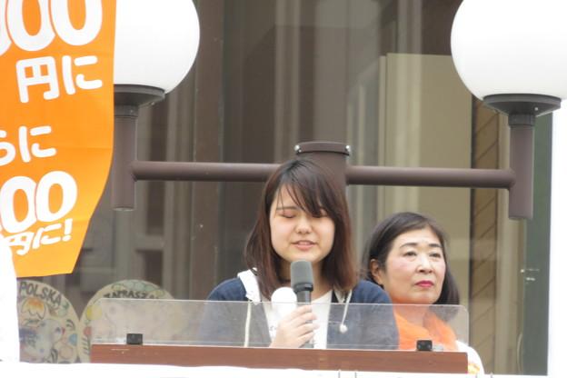 津川候補の教え子からメッセージ