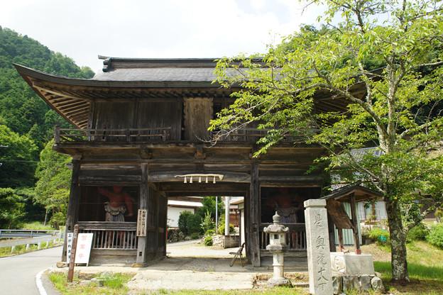 るり寺 山門
