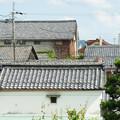 白雲館 屋根瓦の眺め_02
