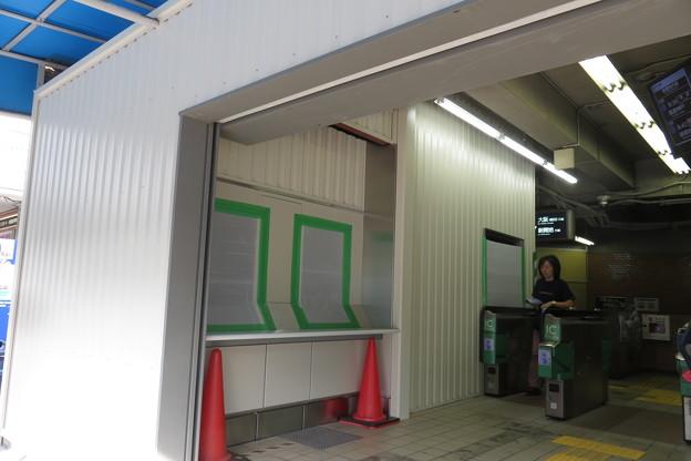 花隈駅 改札改造_02 2017.9.15