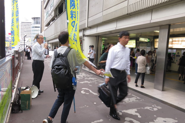 神戸市長選挙 朝宣伝_03