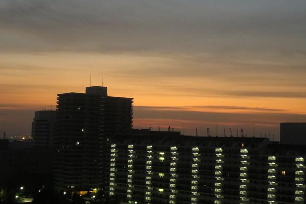 ポートアイランドの朝焼け_03