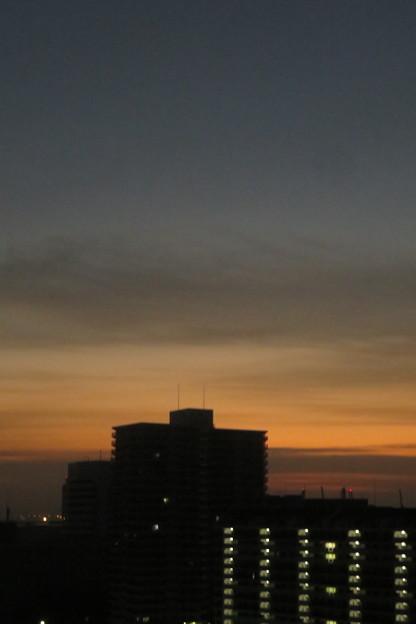 ポートアイランドの朝焼け_04
