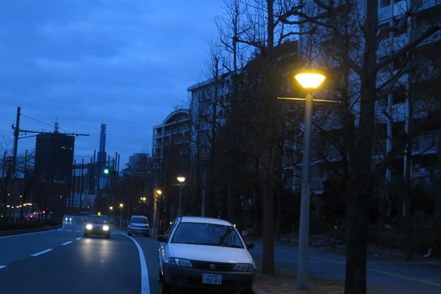 HAT神戸 連なる街灯_03