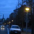 写真: HAT神戸 連なる街灯_03