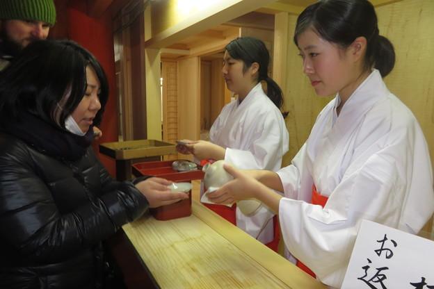 厳島神社 お神酒