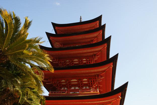 宮島 五重塔