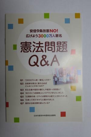 憲法問題Q&A 100円パンフ