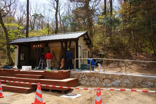 森の茶屋改築中