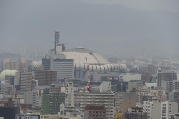 通天閣 4Fからの展望 京セラドーム