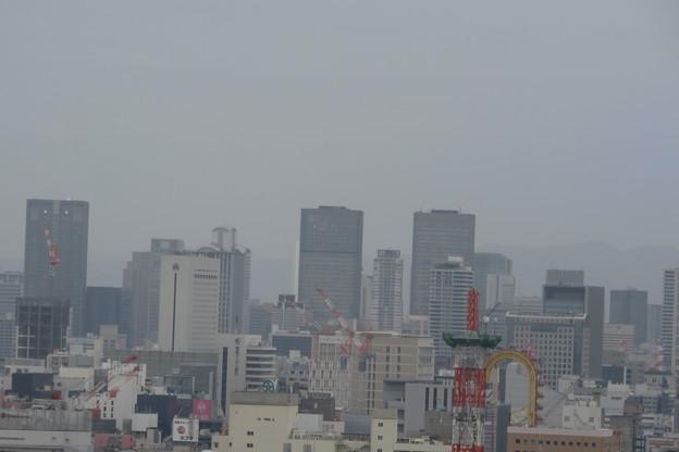 通天閣 4Fからの展望 梅田ビル群
