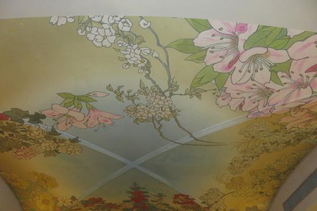 写真: 通天閣 再現天井絵
