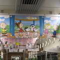 写真: スヌーピー 阪急電車の車内広告_03