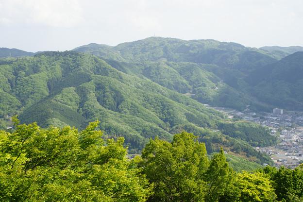 備中松山城 城下の眺め_01