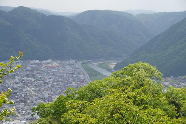 備中松山城 城下の眺め_02