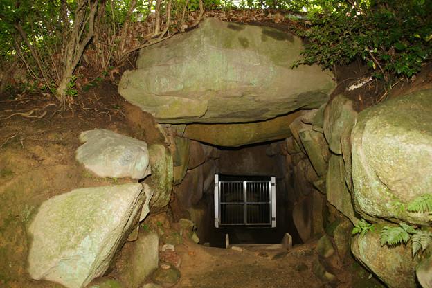 こうもり塚古墳 石室