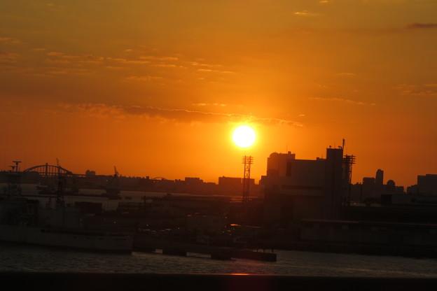 神戸大橋の朝日_01