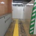 写真: 花隈駅 上りホームの工事_03