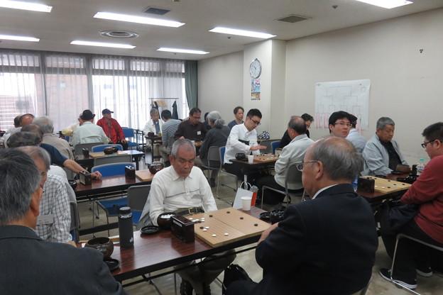 県大会 囲碁対局始まる_01