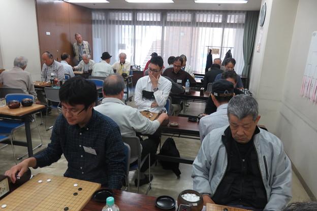県大会 囲碁対局始まる_02