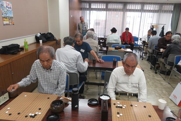 写真: 県大会 囲碁対局始まる_03