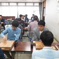写真: 県大会 将棋対局始まる_01