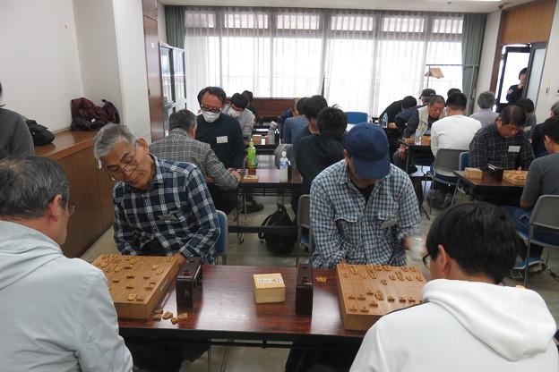 県大会 将棋対局始まる_02