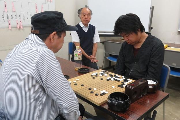 写真: 県大会 囲碁A級3位決定戦