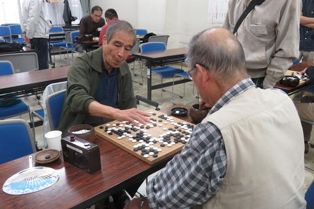 県大会 囲碁B級決勝戦