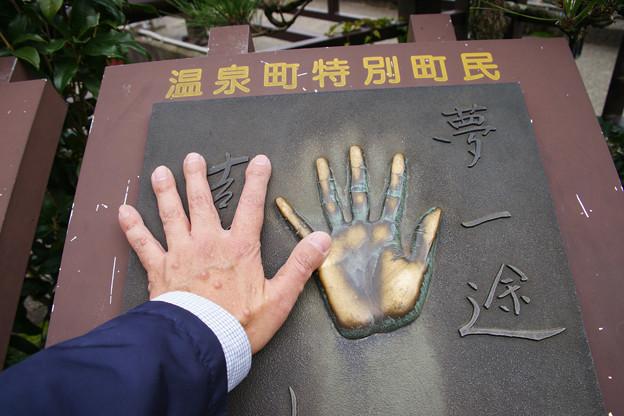 吉永小百合 手形