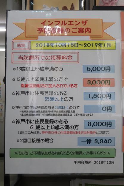 インフルエンザ ワクチン接種