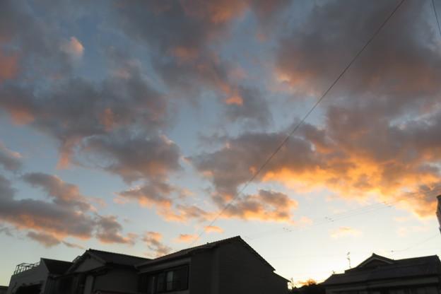 湊山温泉の夕焼け_01