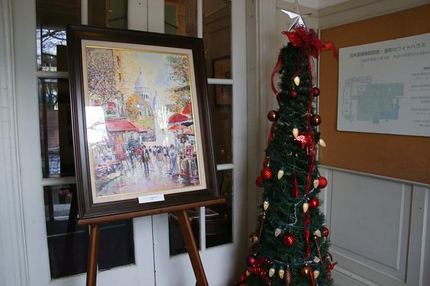 北野美術館 クリスマスツリー